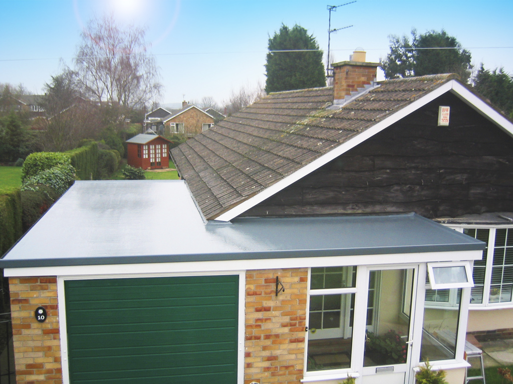 Why Fibreglass Is The Best Material For A Flat Roof Dwell