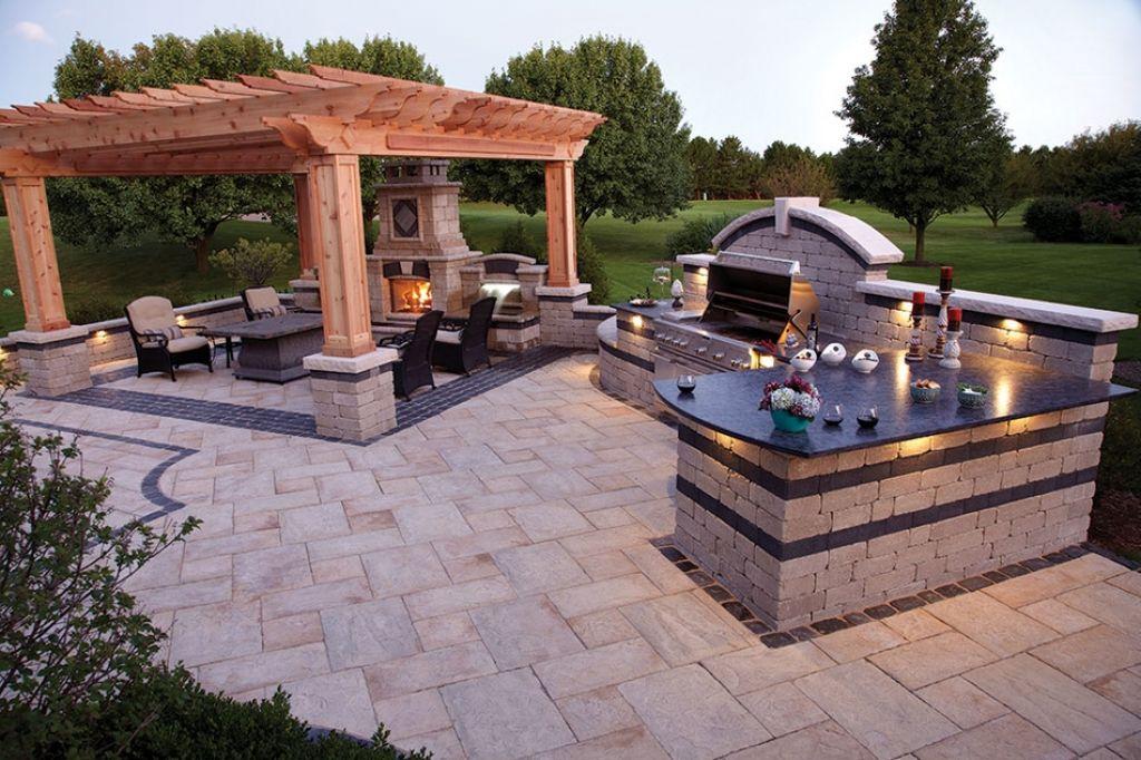 outdoor kitchen designs stone different ideas for outdoor kitchen designs dwell