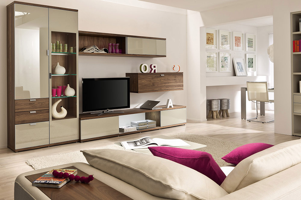 Ten-Modern-Style-Living-Rooms-artful-storage-in-modern-beige-living-room
