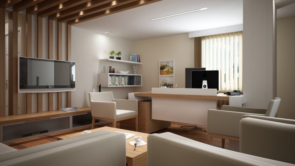 best-modern-home-office-designs-in-open-living-room-3d-rendering-picture